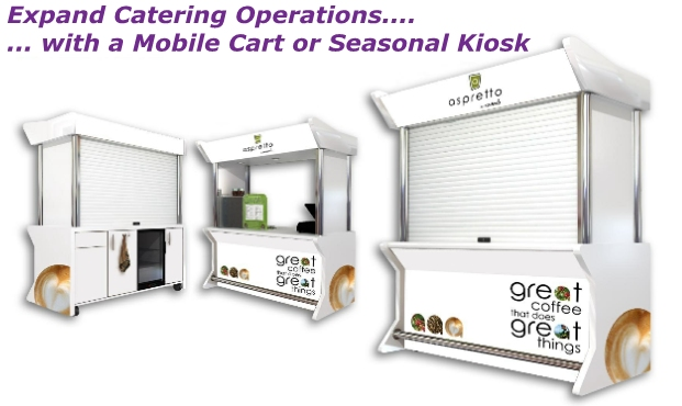Catering Carts & Kiosks