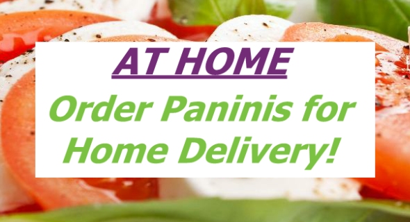 Frozen Paninis for Home Delivery