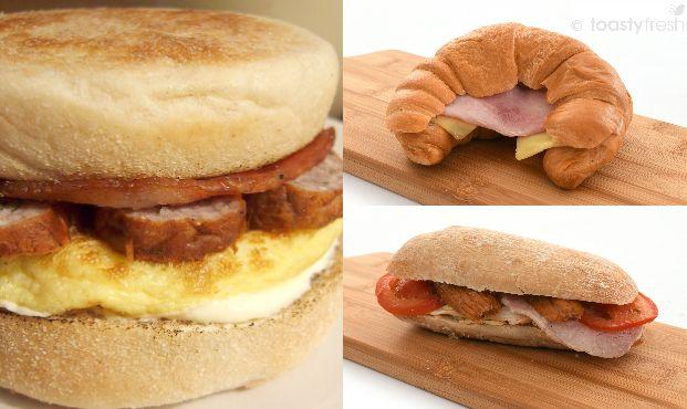 Toastyfresh® Breakfast Options
